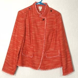 Chico's tweed jacket or blazer size 2 - Large